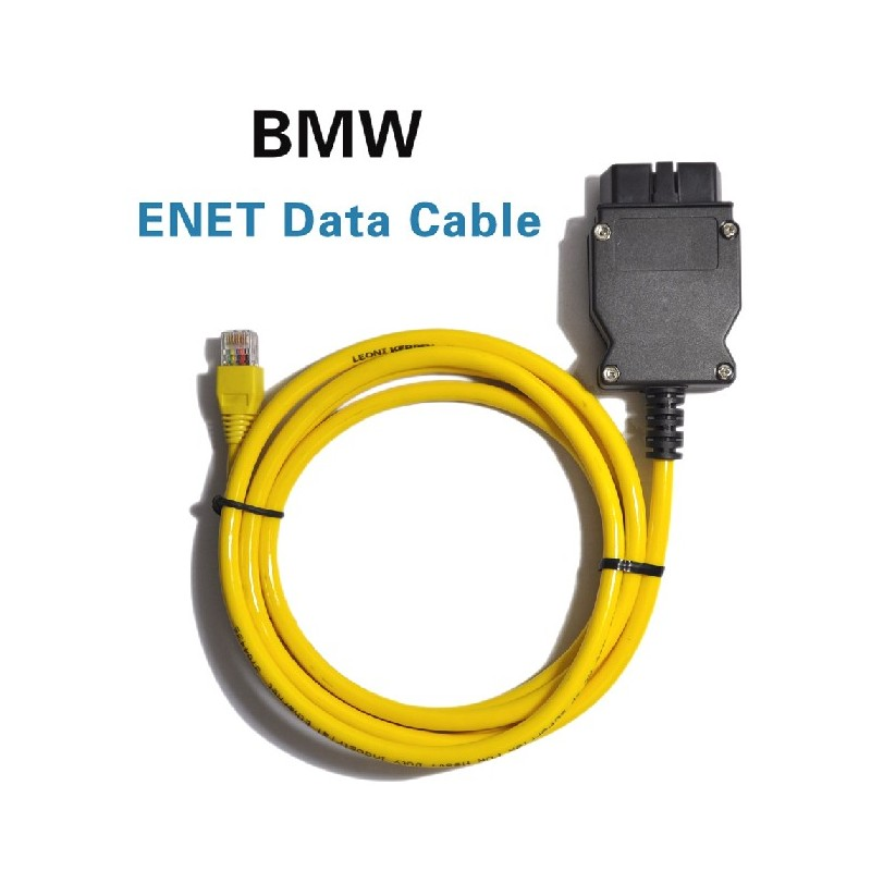 www obd2tech com - BMW Enet OBD2 E-sys Coding F-series Ethernet Cable